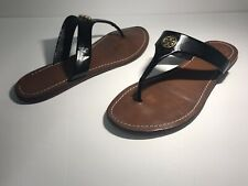 9488496a707 item 6 Tory Burch Womens CAMERON Black Patent Leather Thong Sandals Size 9 -Tory  Burch Womens CAMERON Black Patent Leather Thong Sandals Size 9