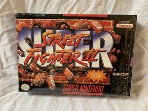 Super-Street-Fighter-II-Super-Nintendo-SNES-1993-Game-CIB-w-Factory-Seal