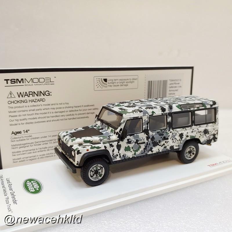 Land Rover Defender CNN blindé Defender Pizza camion  TSM MODELS 1 43  TSM430215  sortie en vente