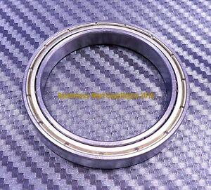 4 PCS F6805zz Chrome Flanged Metal Shielded Ball Bearings 25*37*7 25x37x7 mm