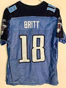 b6de9413 Reebok Women's NFL Jersey Tennessee Titans Britt Light Blue sz M | eBay
