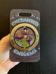 Dr-Facilier-Spinner-LE-Pin-Enchanted-Emblems-Monthly-Disney-Princess-amp-Frog