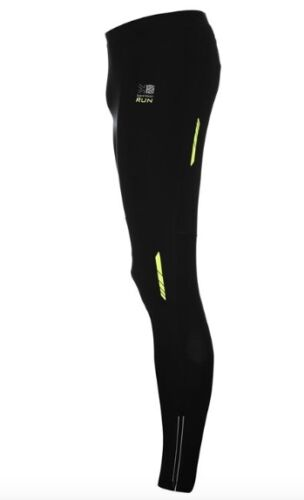 Karrimor Xlite Men's running Jogging pants tights long yellow black all sizes