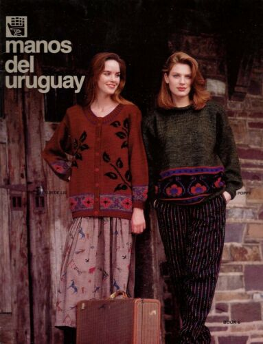 Men/'s and Women/'s Sweaters Set of Two Manos del Uruguay Pattern Booklets