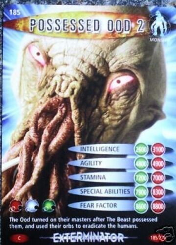 185 POSSESSED OOD 2 DR WHO BATTLES IN TIME NO