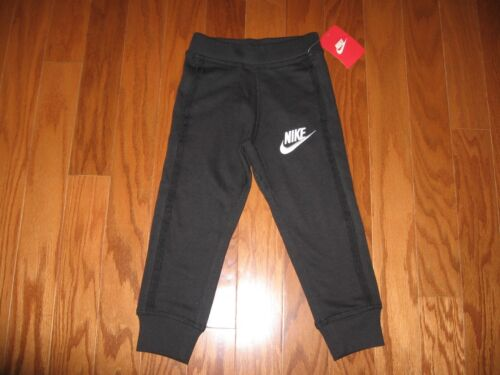 NIKE BOYS  ATHLETIC JOGGERS WITH SWOOSH SIZE 2T//3T//4T//4//5//6//7 NWT