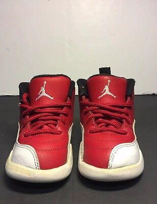 discount df8cf 12d99 Air Jordan 12 Retro Toddler Size 7C Gym Red | eBay