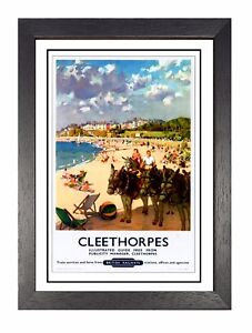 Cleethorpes-3-Vintage-Railway-Poster-Humber-Lincolnshire-Old-Advert-Photo
