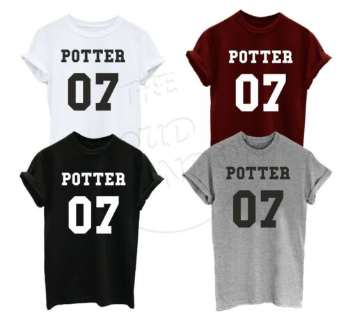 Potter 07 Harry Potter Inspired Funny TypoTumblr Magic Fashion GiftUnisex Tshirt