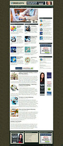 INTERNET MARKETING WEBSITE & AFFILIATES  WITH NEW DOMAIN NAME + SSL CERTIFICATE