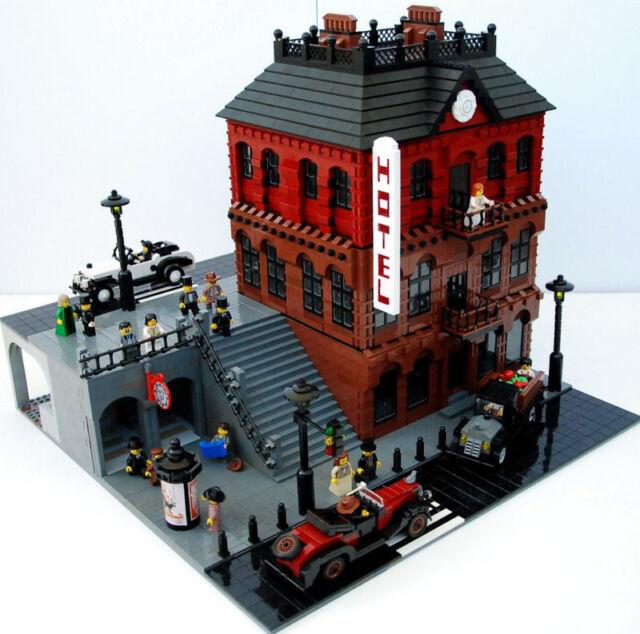 Hotel LEGO Building Instruction 10182 10185 10190 10197 10211 10218