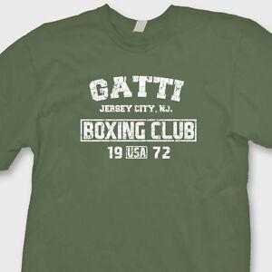 GATTI-Boxing-Club-Vintage-Arturo-T-shirt-MMA-Fighting-Gym-Tee-Shirt