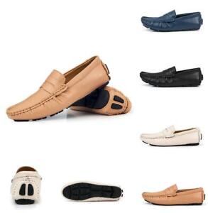 chic mens moccasins slip on loafers casual driving pumps