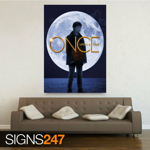 Poster Print Art A1 A2 A3 A4 1235 ONCE UPON A TIME HENRY MILLS JARED GILMORE