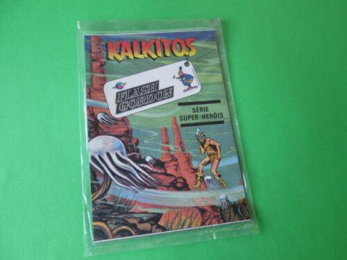 VINTAGE KALKITOS FLASH GORDON 1979 DC COMICS NEW SEALED TRANSFERS DECALCOMANIA