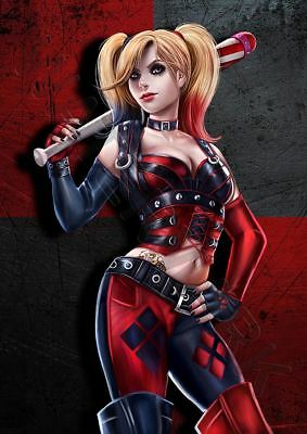 HARLEY QUINN SUICIDE SQUAD A3 ART PRINT PHOTO POSTER GZ6067