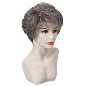 10-039-039-Perruque-Femme-Courte-Grise-Naturelle-Raide-en-Vrais-Cheveux-Humains