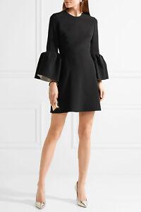 Visit New Roksanda Woman Hadari Cady Mini Dress Black Size 8 Roksanda Ilincic 2018 Newest Cheap Online Buy Cheap Top Quality Clearance Order BzsPShQSPt