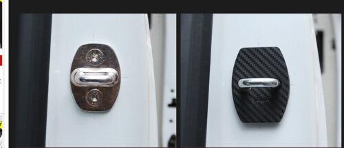 2* Plastic Car Door Lock Protective Cover Trim for Chevrolet Camaro 2017 2018