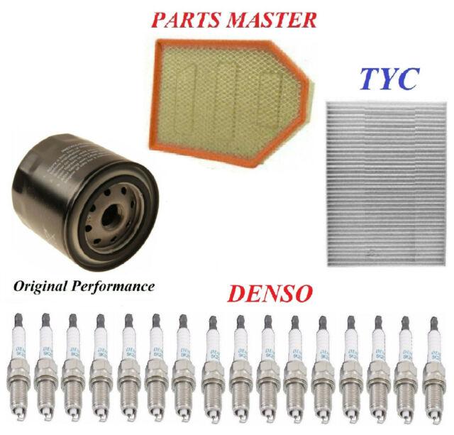 Tune Up Kit Filters Spark Plugs Fit DODGE CHALLENGER V8; 6