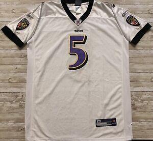 Baltimore Ravens Joe Flacco Jersey #5 NFL Reebok On Field Size 52 ...