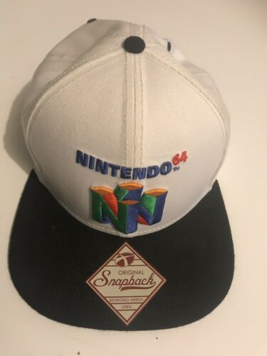 NINTENDO 64  ORIGINAL SNAPBACK CAP Nintendo