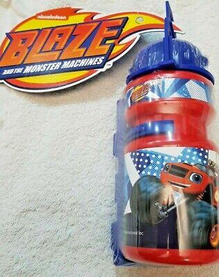 Coraggioso Blaze Monster Machines Borraccia In Plastica 16cm Supp Bici Nickeloden Originale