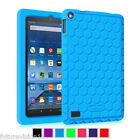 Amazon Kindle Fire HD 8 2015 Back Case 5th Gen Kiddie Shock Proof Silicone Cover
