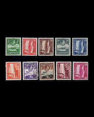 Vintage Antigua 1938 Oglh Scott # 84-91,92,94 $ 49.90 Lot # Vsaant 1938 A We Have Won Praise From Customers British Colonies & Territories