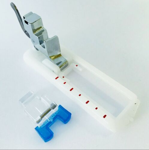 Nähfußhalter für W6 Nähmaschinen Knopfannähfuß und Knopfloch Nähfuß Meßschiene