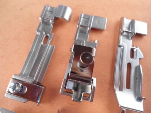 Set of 6 Presser Feet for Pfaff Serger Coverlock 3.0 Coverlock 4.0 Hobbylock 2.5