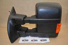 2008-2009 Ford Super Duty LH Driver Side View Trailer Tow Power Mirror new OEM