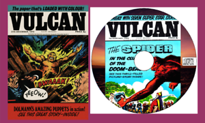 Vulcan-Comics-39-issues-amp-specials-with-viewing-software-for-PC-on-CD