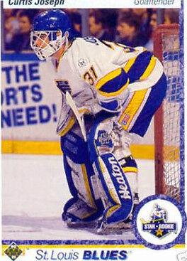1990 Upper Deck Curtis Joseph 175 Hockey Card