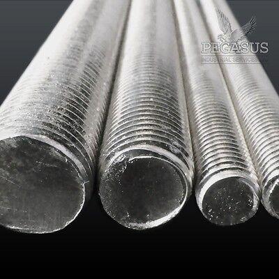A2 Stainless Steel Threaded Bar / Metal Studding Rod Long Bolt Allthread Thread