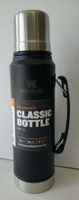 Stanley Classic Series The Heritage Stainless Steel Vacuum Bottle 1.1 Qt Thermos