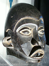 old African mask. Masque africain ancien