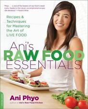 Ani's Raw Food Essentials by Annie Phyo Brand New Paperback Cookbook WT67449