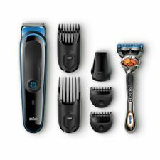 Braun MGK3045 7-in-1 Precision Trimmer Multi Grooming Kit Black & Blue