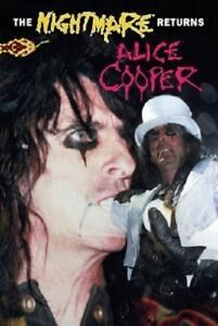 "Alice Cooper ""The Nightmare Returns"" DVD NUOVO!"