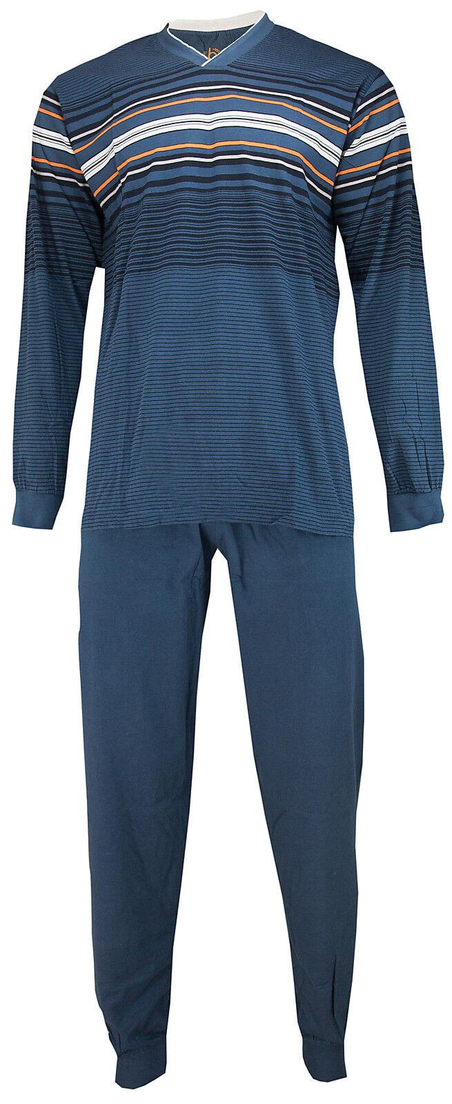 Bugatti Herren Schlafanzug Pyjama  2774 986