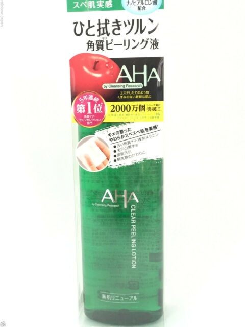 BCL AHA Cleansing Research CLEAR PEELING LOTION 145ml Skincare Cleanser JAPAN