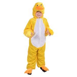 new products 09784 831ce Dettagli su Costume Carnevale Bambino Da Papero Di Animale Vestito Papera  Per Festa Bimbo