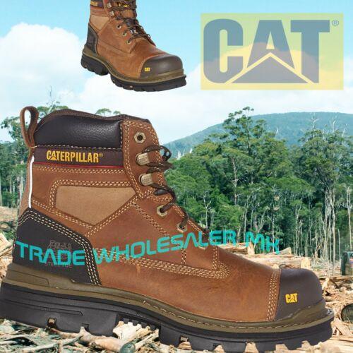 CAT Gravier UltraSafe Bottes de sécurité-Tough /& Durable CATERPILLAR Tan//Marron