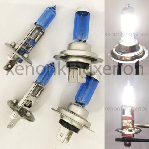 Combo H7-55W H1 55 W White Low//Hi Beam Xenon Halogen Headlight #v1 Light Bulb