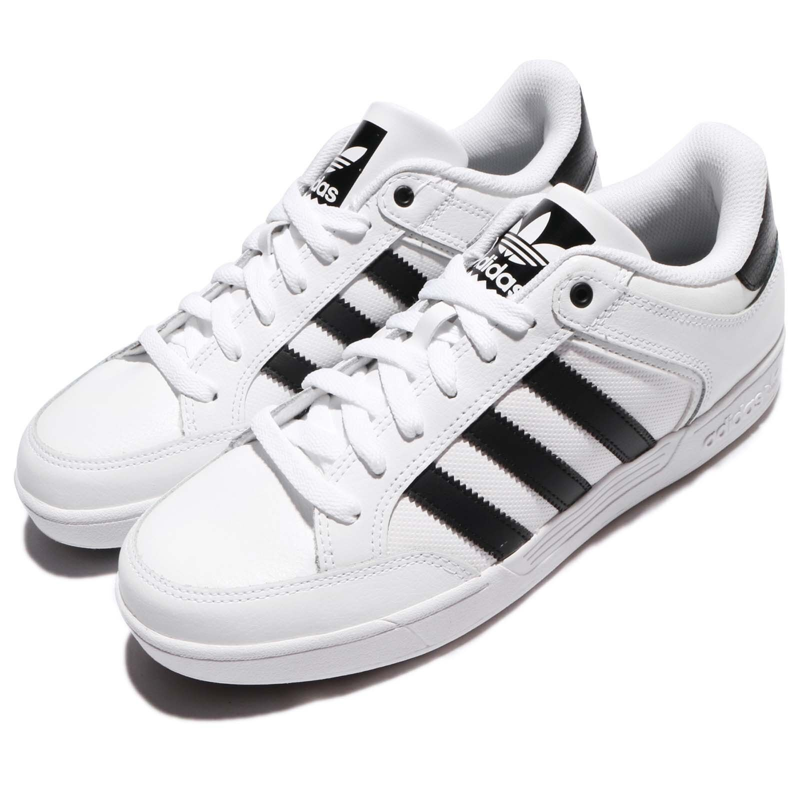 adidas Originals Varial Low White Black Men Shoes Sneakers Trainers BY4056