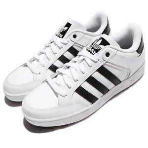 Adidas Sale  Adidas Originals Varial Low White Black Men Shoes Sneakers Trainers By4056
