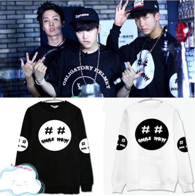 BTS Bangtan Boys SWEATER SWEATSHIRT JUMPER PULLOVER JUNGKOOK RAPMONSTER JIN SUGA