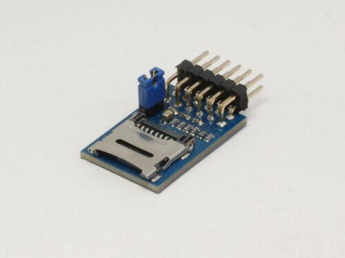 pmMicroSD 301001 micro SD card adapter prototyping board