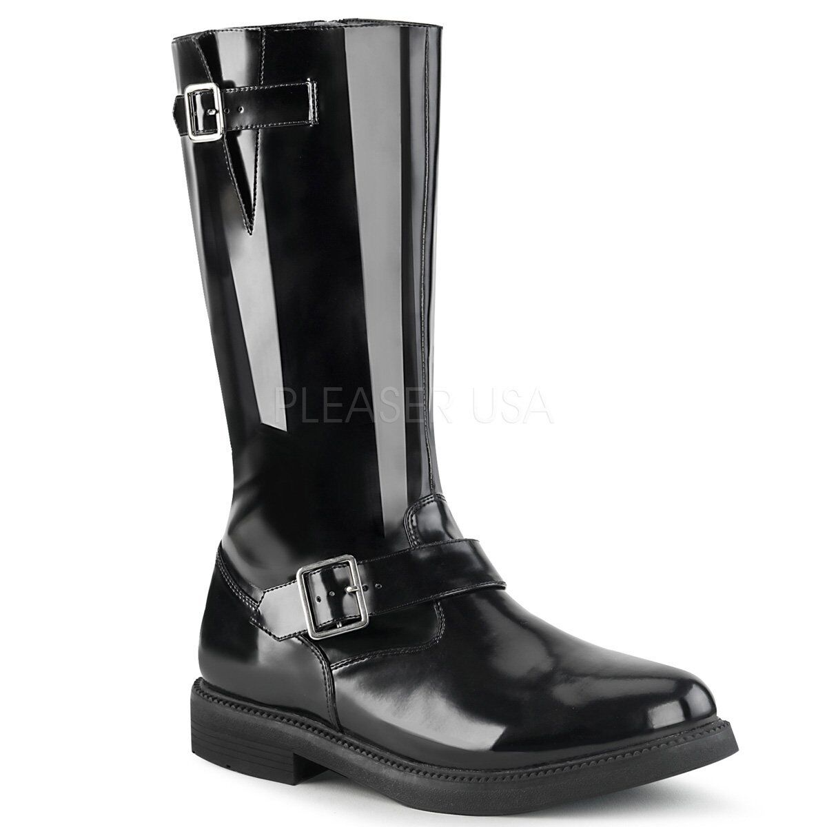 Star Wars Imperial Officer Darh Vader Military Steampunk Gothic Knee High Stiefel